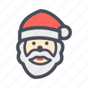 celebrate, christmas, color, santa, snow, winter, xmas icon