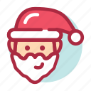 celebration, christmas, merry, santa, santa claus, winter, xmas icon