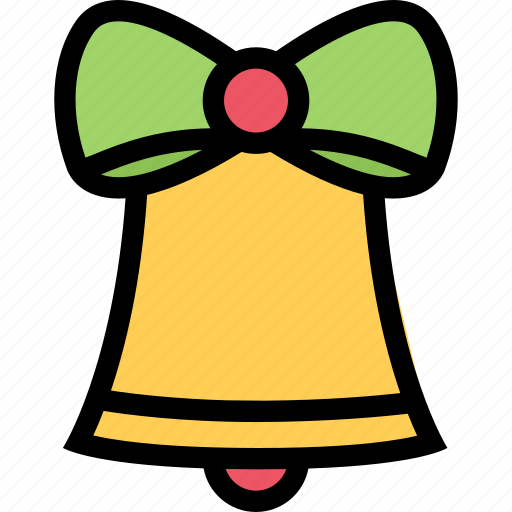 bell, christmas, holidays, new year, winter icon
