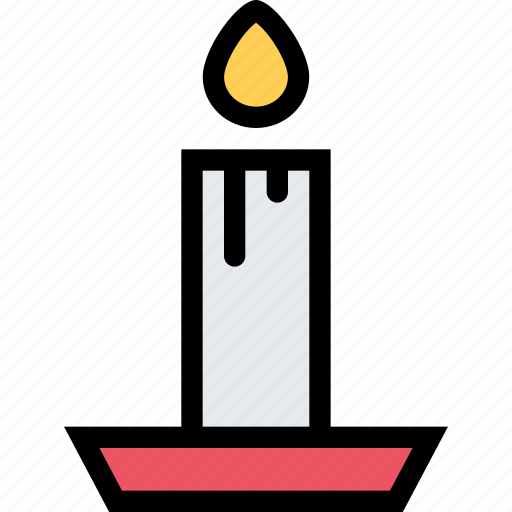 candle, christmas, holidays, new year, winter icon