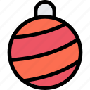 ball, christmas, christmas ball, holidays, new year, winter icon