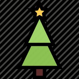 christmas, fir-tree, holidays, new year, tree, winter icon
