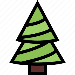 christmas, fir-tree, holidays, new year, tree, winter icon