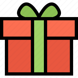 christmas, gift, holidays, new year, winter icon