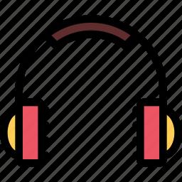 christmas, headphones, holidays, new year, winter icon