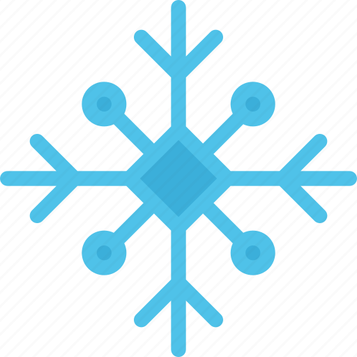 christmas, holidays, new year, snowflake, winter icon
