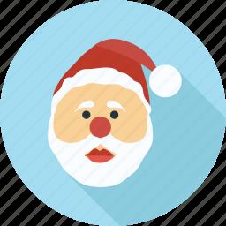 christmas, merry christmas, santa, santa claus, santa clause, winter icon