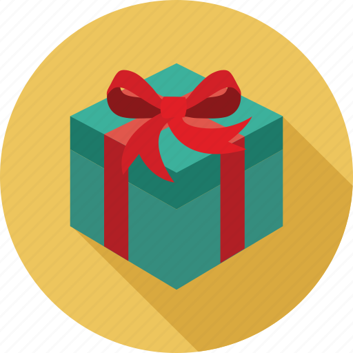 gift, gift box, surprise gift icon