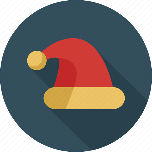cap, christmas hat, hat, santa, santa cap, santa claus, santa hat icon