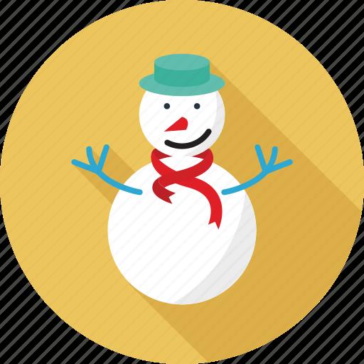 christmas, ice man, snow man, snowman, winter icon