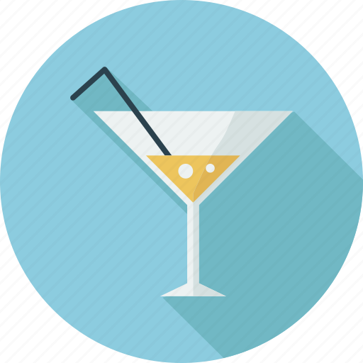 drink, drink glass, juice glass, juice straw and glass icon