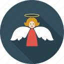 angel, angel girl, christmas, doll dream, dream icon