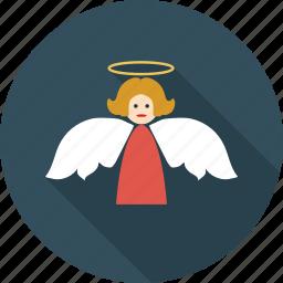 angel, angel girl, christmas, doll dream, dream icon