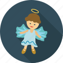 angel, angel baby, angel girl, dream, dreamy icon