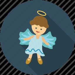 angel, angel baby, angel girl, dream, dreamy icon