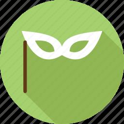 christmas mask, face mask, mask icon
