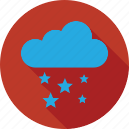 cloud, star and cloud, stars, stars and cloud icon