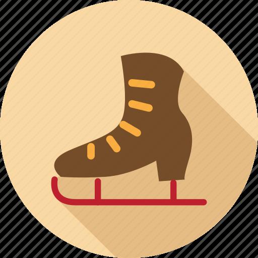 christmas shoe, long shoes, shoes, slade shoes, snow shoe icon