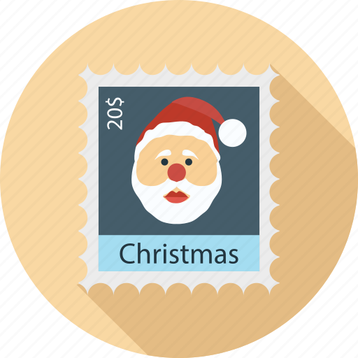 christmas ticket, santa claus, santa claus on ticket, ticket, ticket and santa claus icon