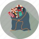 bag, christmas shopping, shopping bag icon