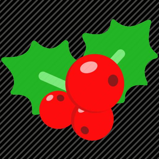 christmas, fruit, holiday, merry, mistletoe, xmas icon