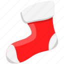 christmas, holiday, merry, socks, xmas icon