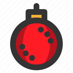 bauble, christmas, decoration, winter, xmas icon