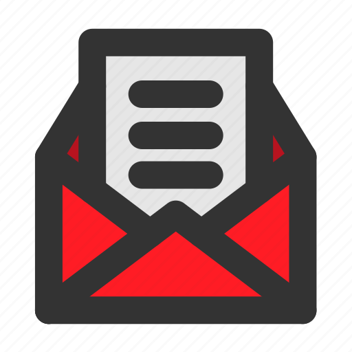 christmas, mail, post, xmas icon