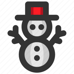 christmas, cold, snow, snowman, winter, xmas icon
