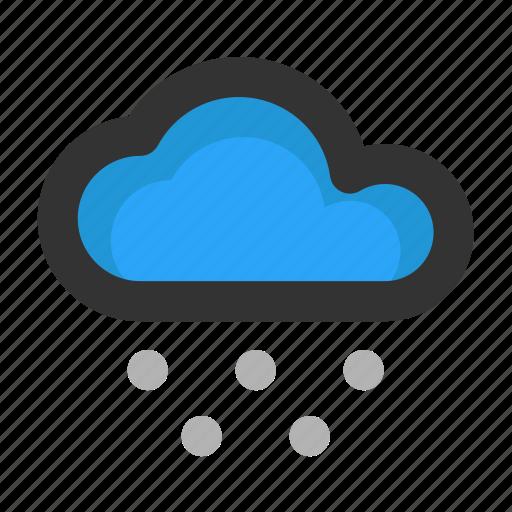 christmas, cloud, weather, winter, xmas icon