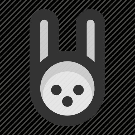 christmas, color, rabbit, xmas icon