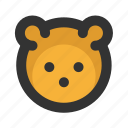 bear, christmas, xmas icon
