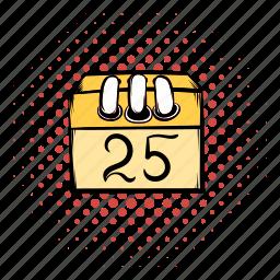 calendar, christmas, comics, design, funnies, page, wallpaper icon