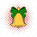 bell, bow, buzzer, campane, dong, ring, toller icon