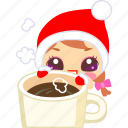 chocolate, christmas, cocoa, coffee, hot, xmas icon