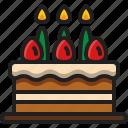 cake, food, sweet, dessert, christmas, birthday, party