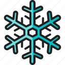 snowflake, winter, season, cold, freeze, frost, weather