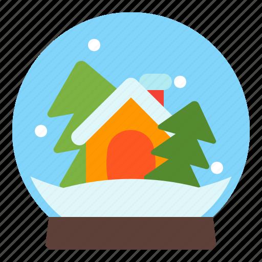 ball, glass, winter, xmas icon