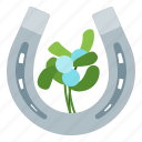 christmas, decoration, horseshoe, xmas icon