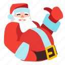 christmas, claus, santa, xmas icon