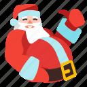 claus, santa, xmas, christmas