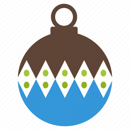 ball, bauble, christmas, decor, decoration, holiday, ornament icon