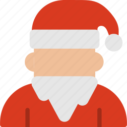 avatar, christmas, claus, decoration, santa, winter, xmas icon