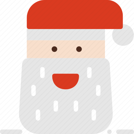 christmas, claus, decoration, face, santa, winter, xmas icon