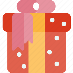box, christmas, decoration, gift, present, winter, xmas icon