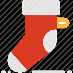 christmas, decoration, holiday, socks, winter, xmas icon
