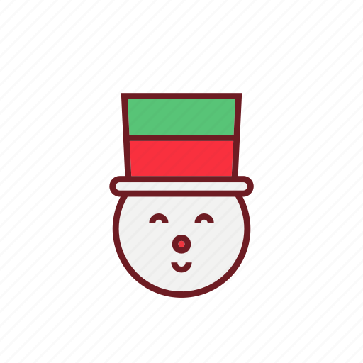 christmas, cute, holiday, ornaments, snowman icon