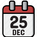 calendar, christmas, date, december, holiday, meeting, xmas icon