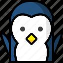 animals, face, penguin, xmas, christmas, joy, holiday