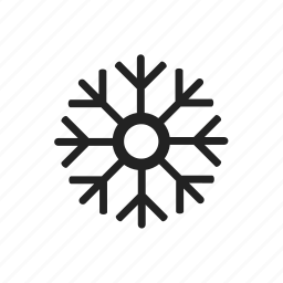 christmas, cloud, decoration, snow, snowflake, weather, winter icon